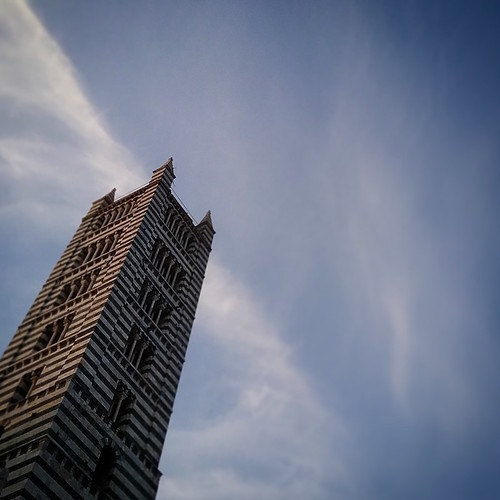 Siena: la torre del duomo