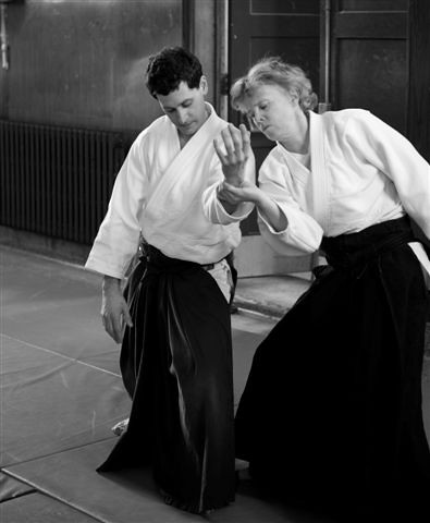 Mark Stoddart and Colleen Hogan | by USAFAikidoNews