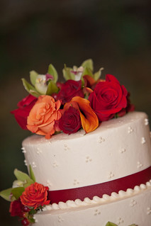Cake Flowers — Farrell's Florist in Drexel Hill, PA — Photo Courtesy Creative Images Photography | by Flower Factor