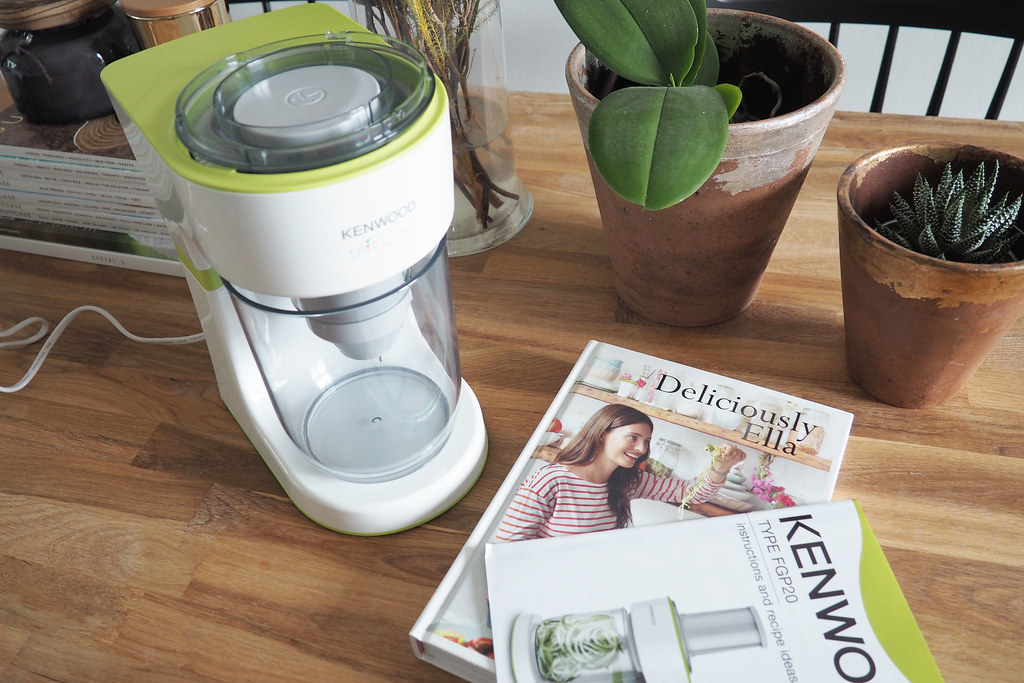 kenwood spiralizer 2