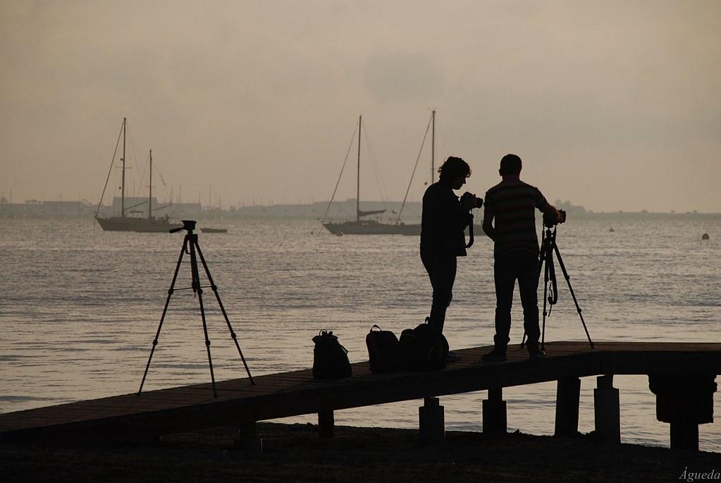 Fotógrafos...