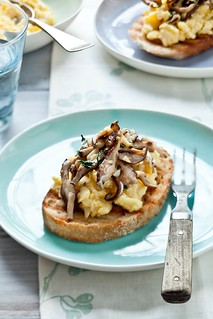 Scrambled Egg Tartines | by tartelette