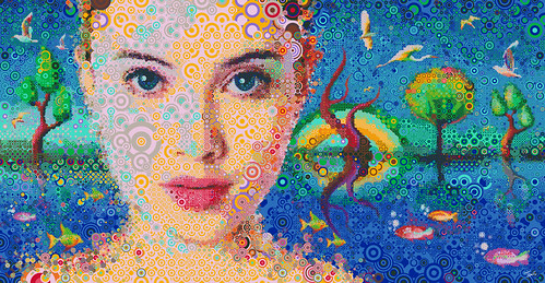 Illustrations for the SANYO ZIO campaign (3) | by tsevis