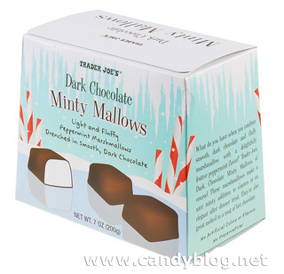 Trader Joe's Dark Chocolate Minty Mallows | by cybele-