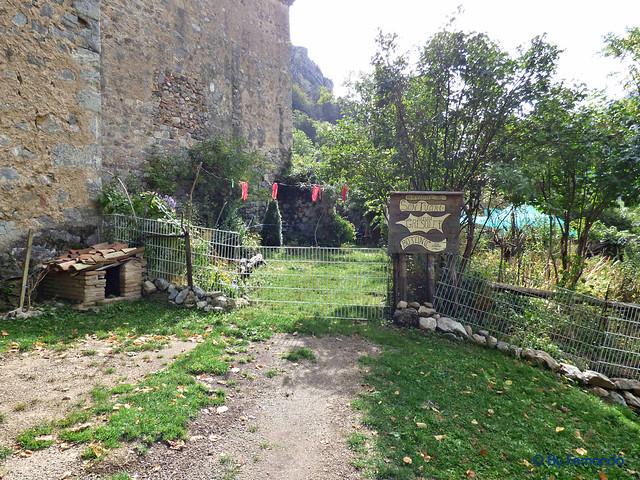 Gresolet a Bagà -20- Mare de Dèu de Gresolet -02- Entrada (05-10-2016)