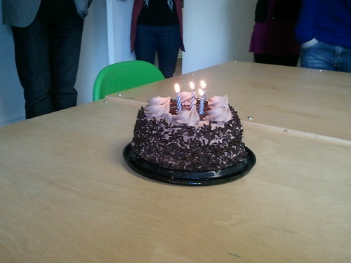 Office Birthday Cake
