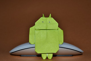 Google Android (Design by Gerwin Sturm) | by Origamiancy