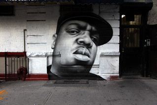 BIGGIE Mural in Brooklyn New York | by jamie nyc