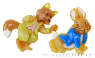 Peter Rabbit and a Fox | by cybele-