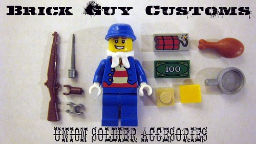Brick Guy Customs Union Soldier (Accessories) | by The Brick Guy