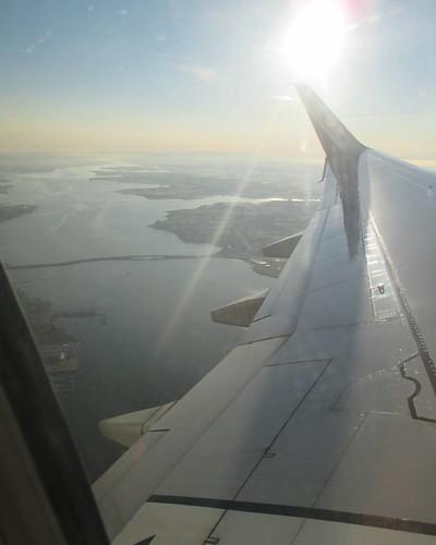 Above Charlottetown Harbour #pei #charlottetown #hillsboroughriver #aerial #flight #latergram #charlottetownharbour