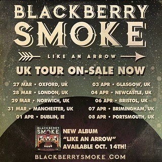 Blackberry Smoke UK Tour