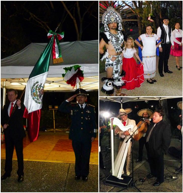Se conmemora en Australia el 206 Aniversario del Inicio de la Independencia de México