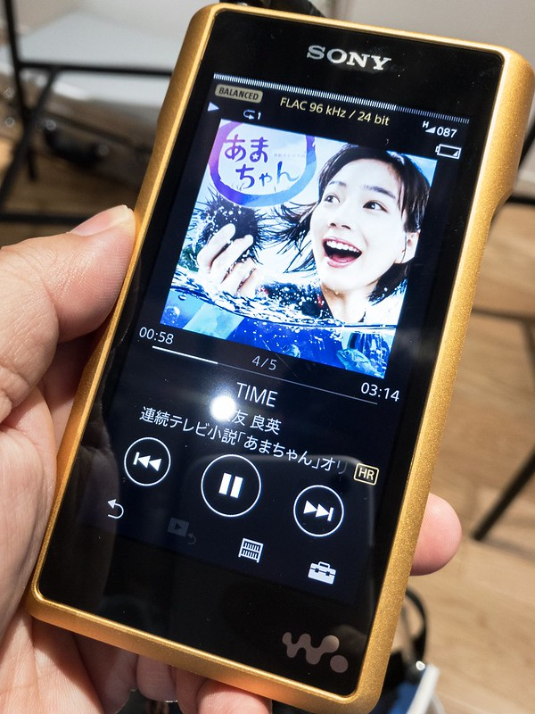 【ソニーフラッグシップモデル ブロガー限定先行体験会】SONY WalkMan NW-WM1Z