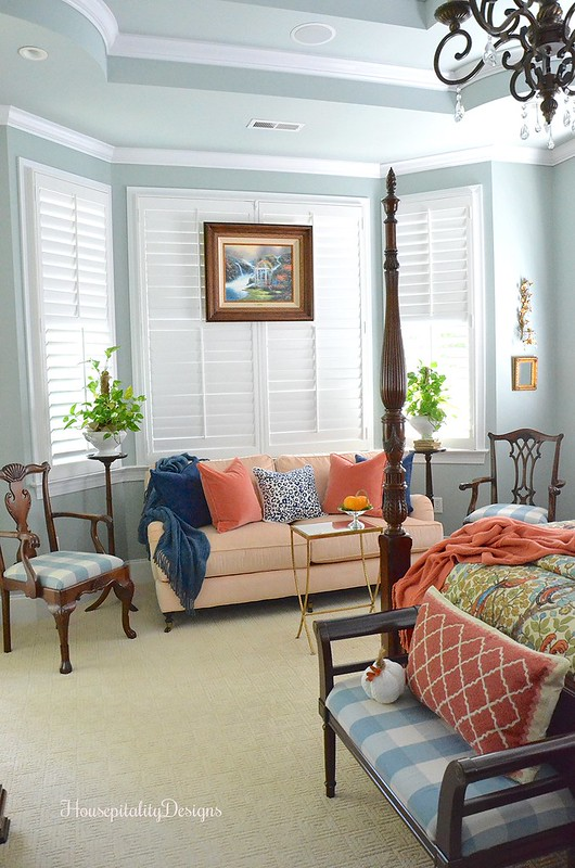 Master Bedroom - Sitting Area - Fall - Housepitality Designs
