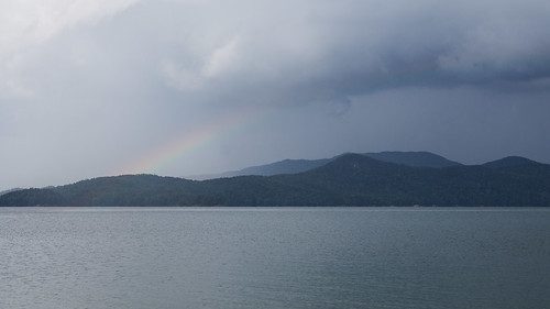 Lake Jocassee rainbow
