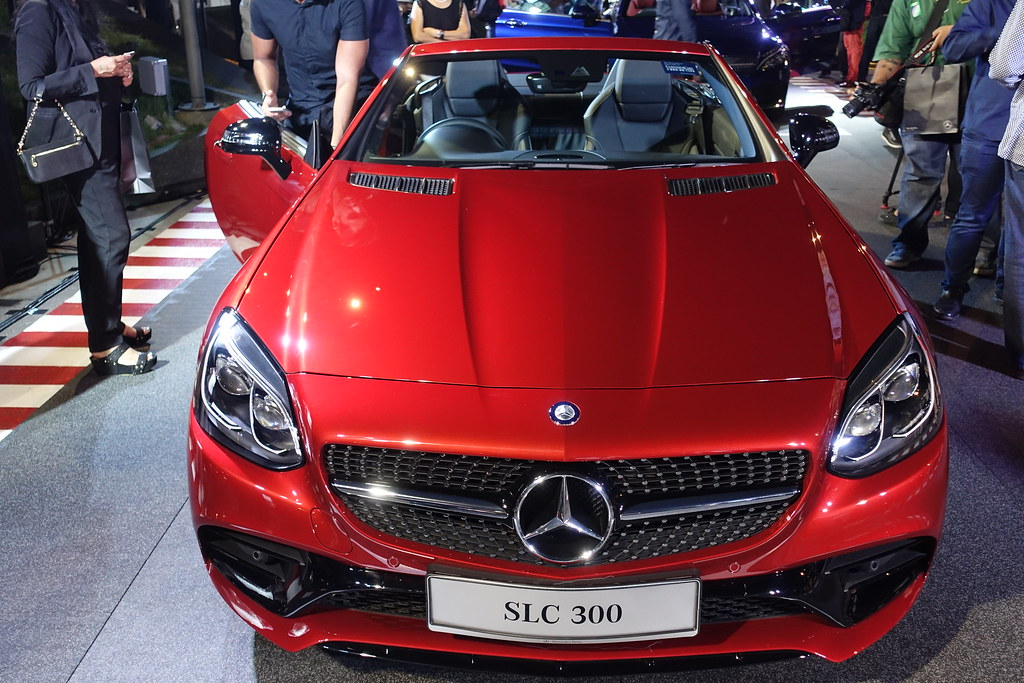 Mercedes-Benz C-Class and SLC Launch