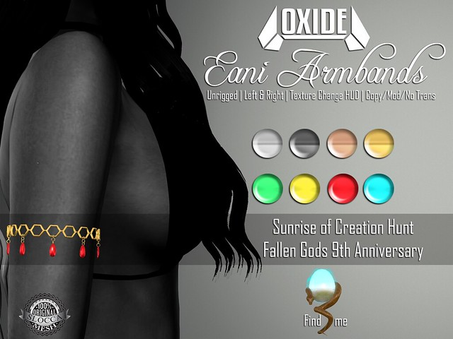 OXIDE Eani Armbands