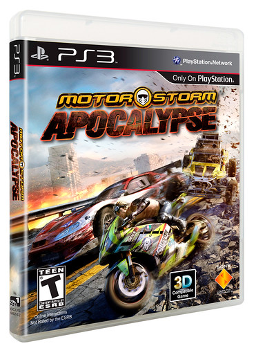 MotorStorm Apocalypse PS3 North American box art | by PlayStation.Blog