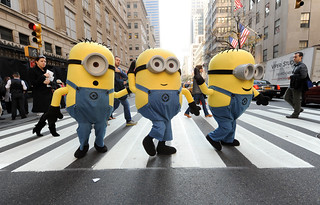 The Minions cross the street | by NBCU Direct