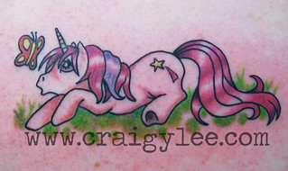 my little pony tattoo | by craigy lee