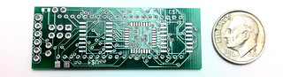 PCB with Dime | by Brian Fountain