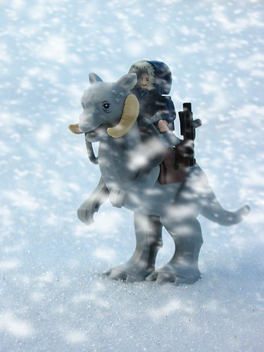 Han Solo searching on Hoth | by PeterDB.net