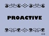 Buzzword Bingo: Proactive