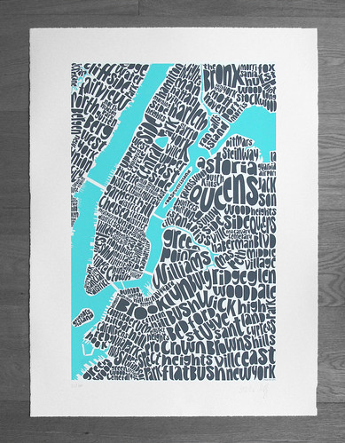 Map of New York | by Ursula Hitz