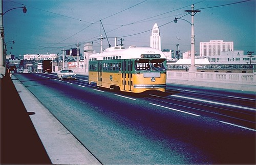L.A. 1963 1st Street Bridge | by A Box of Pictures