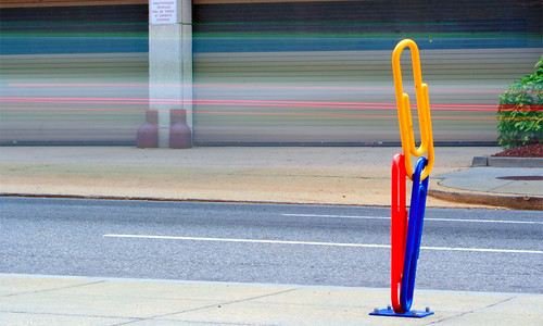 Paper Clip Bike Rack | by Walid'sPics