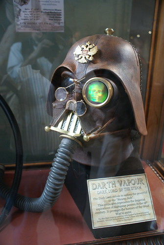 A touch of Steampunk - Darth Vapour! | by Professor Fumolatro
