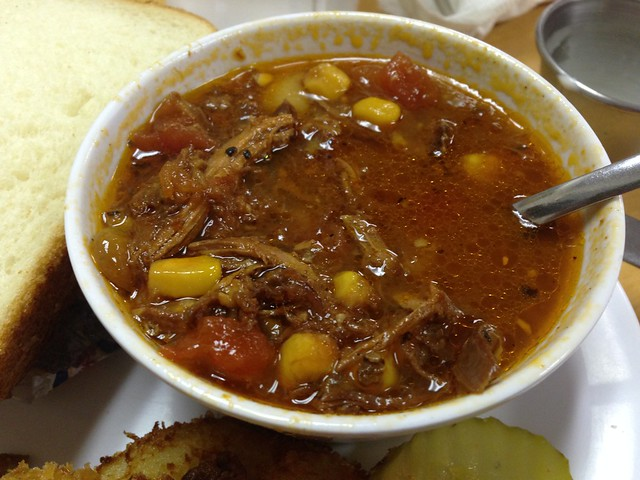 Brunswick Stew from Southern Comfort, Hope Hull AL