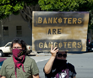 Banksters are Gangsters - Homes Not Jails July 4th protest | by Steve Rhodes