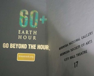 Bermuda_Hamilton_Earth Hour 2012 gobo light image | by Earth Hour Global