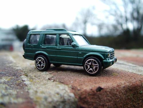Land Rover Disco  Green Repco Spray Paint