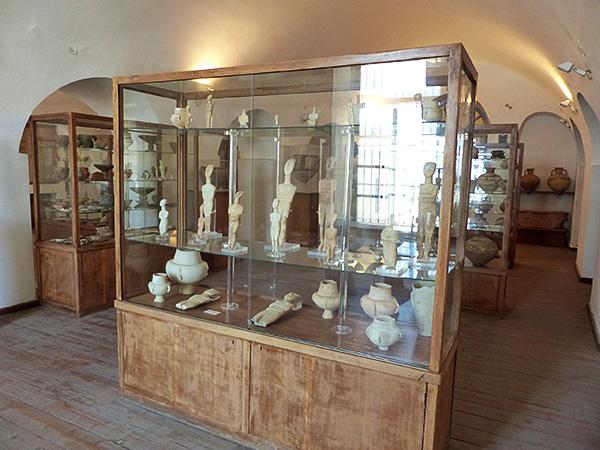 salle cycladique musée Naxos