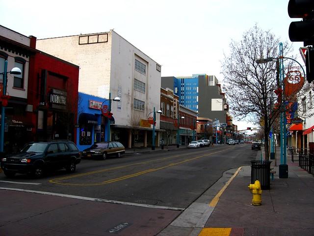Central Avenue, Near KiMo Theatre, Downtown Albuquerque, New Mexico
