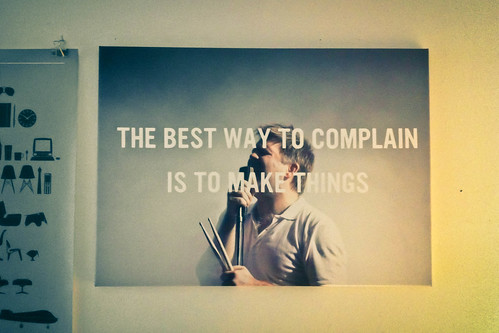 James Murphy on my wall | by marksdk