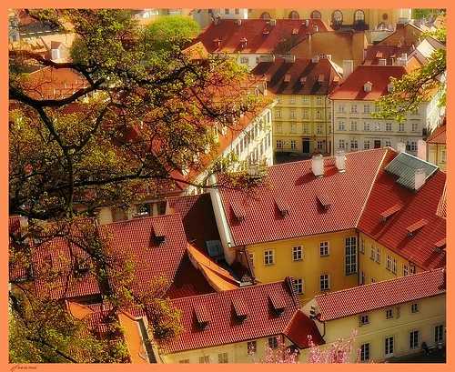 Střechy Praha - Roofs of Prague (4 pictures) | by jackfre 2