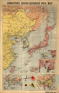 Johnston's Russo-Japanese War Map | by uconnlibrariesmagic