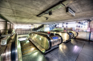 Panic On The Jubilee Line - (HDR London, UK) | by blame_the_monkey