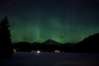 Aurora Borealis over Auke Lake - March 1st, 2011 | by KirstenLee