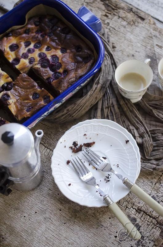 brownie cheesecake ai mirtilli_3