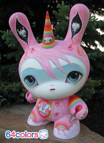 Super Rainbow Dunny | by 64Colors \[•.•]/