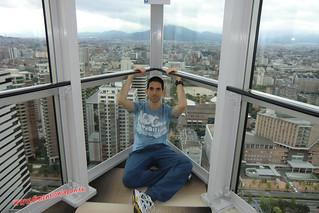 CIMG1345 En la Torre de Fukuoka  (Fukuoka) 14-07-2010