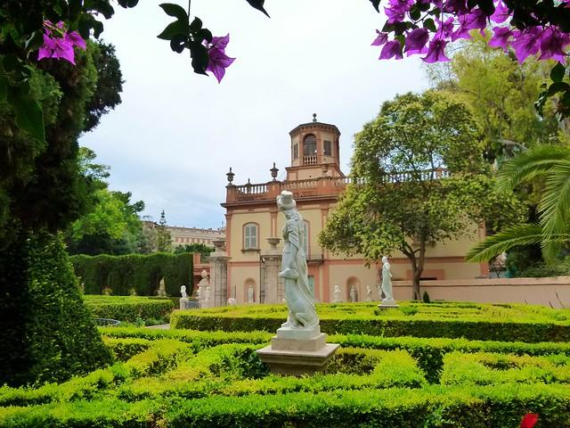Сады Монфорте. Jardín Histórico Nacional de Monforte - Valencia