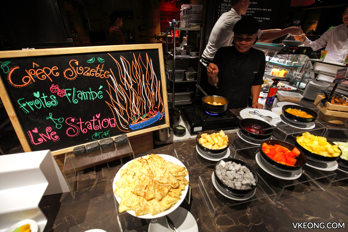 So Sofitel Red Oven Buffet Crepe Suzette