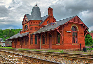 Oakland MD Victorian Train Station | by PhotosToArtByMike