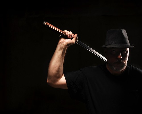 Man in Hat with Katana | by Studio d'Xavier